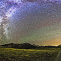 Panorama Of The Milky Way And Night Sky by Alan Dyer