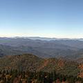 Panorama Of The North Carolina Mountains by Jill Lang