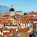Panorama Of The View From The City Walls Of Dubrovnik, Croatia by Global Light Photography - Nicole Leffer