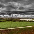Panorama Of Wakefield's Fields by Robert Chlopas