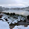 Panorama Of Winter Lake by Diwar Lee