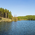 panorama view Rappbode Auxiliary Dam , Harz  by Andreas Levi