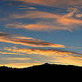 Panoramic - Desert Sunset by Glenn McCarthy Art and Photography