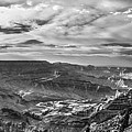 Panoramic Of The Grand Canyon by John McGraw