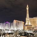 Panoramic Of Vegas by John McGraw