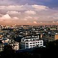 Panoramic Paris Sky.  by Cyril Jayant