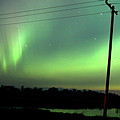 Panoramic Prairie Northern Lights by Mark Duffy