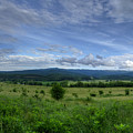 Panoramic Scenic Of Farmland Along The South Branch Of The Potomac by Dan Friend