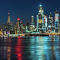 Panoramic Skyline-manhattan by Francisco Gomez
