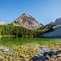 Panoramic View Of Chester Lake by Yves Gagnon