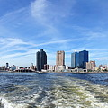 Panoramic View Of Kaohsiung City Waterfront by Yali Shi