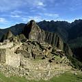 Panoramic View Of Machu Picchu And Urubamba Canyon by James Brunker