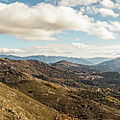 Panoramic View Of Olmi Cappella Valley With In Corsica by Jon Ingall