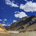 Panrama Of Mountains Ladakh Jammu And Kashmir India by Rudra Narayan  Mitra