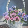 Pansies For A Friend by Paula Pagliughi