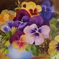 Pansies by Thuthuy Tran
