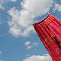 Pant Hanging On Washing Line by Sami Sarkis