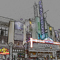 Pantages Theater Hollywood by Tommy Anderson