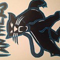 Panthers Nfl Logo by Nakiya Redding