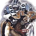 Panthers Vs Saints by Torben Gray