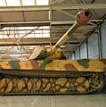 Panzer Vi Tiger Tank In Bovington, Uk by Ivan Batinic