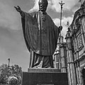 Papa Juan Pablo II - Mexico City Byn by Totto Ponce