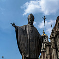 Papa Juan Pablo II - Mexico City I by Totto Ponce