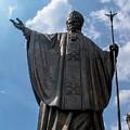 Papa Juan Pablo II - Mexico City IIi by Totto Ponce