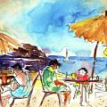 Papagayo Beach Bar In Lanzarote by Miki De Goodaboom