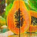 Papaya Dreaming by Anthony Robinson