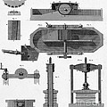 Paper Mill Diagram, 1814 by Wellcome Images