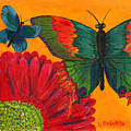 Papillon Jaune by Debbie McCulley