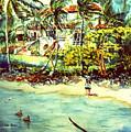 Paradise At Dorado Puerto Rico by Estela Robles