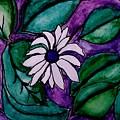 Paradise Flower by Marsha Heiken