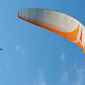 Paraglider In The Blue by Yurix Sardinelly