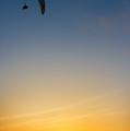Paraglider Sunset by Jess Kraft