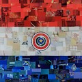 Paraguay Flag by Claudia Di Paolo