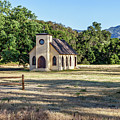 Paramount Ranch Church by Gene Parks
