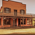 Paramount Ranch Saloon by Gene Parks