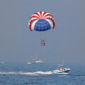 Parasailing In Florida by Deborah Benoit