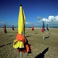 Parasols Of Deauville by Bernard Jaubert