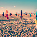 Parasols Of Deauville by Delphimages Photo Creations