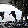 Paratroopers With The Spanish Military by Stocktrek Images