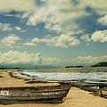 Paraty Beach, So. America by Stan Roban