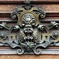 Paris - 19th Century Brass Door Knocker by Yvonne Wright