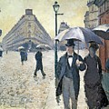 Paris A Rainy Day by Gustave Caillebotte