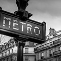 Paris And The Metro by Georgia Fowler