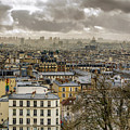 Paris As Seen From The Sacre-coeur by Pablo Lopez