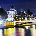 Paris At Night 22 by Alex Art and Photo