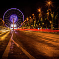 Paris At Night by Miguel Winterpacht